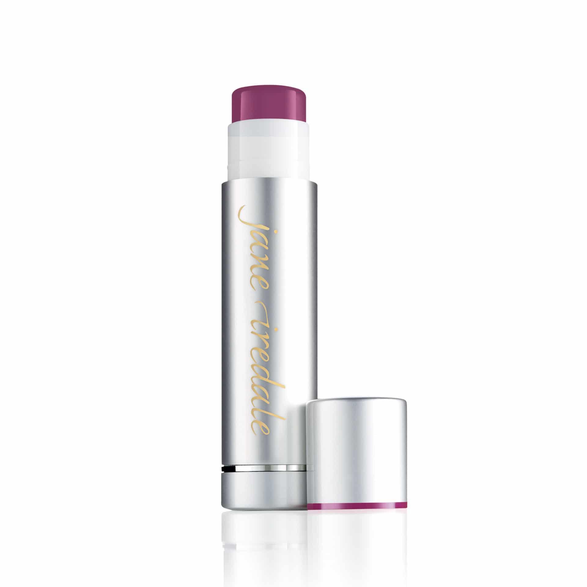 Creme LipDrink Lip Balm, Bálsamo para os lábios de cor roxa