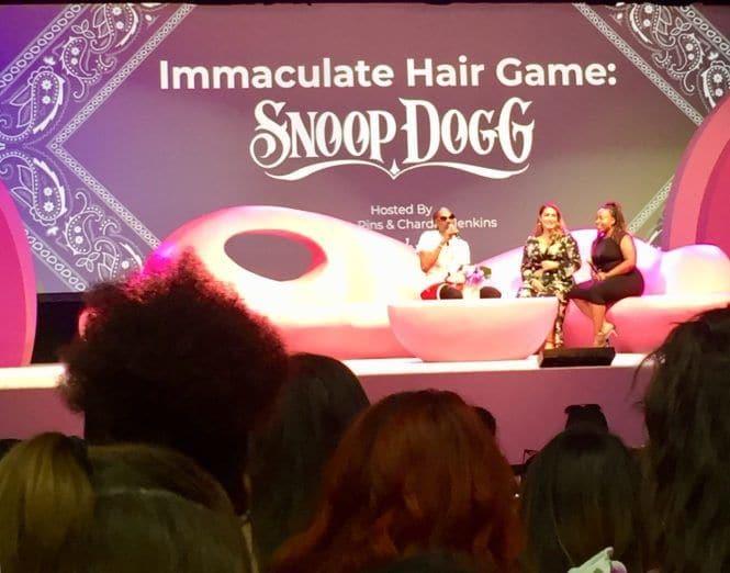 Snoop Dogg Beautycon LA Cabelo Jogo