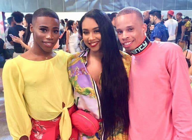 Participantes do Beautycon LA 2018
