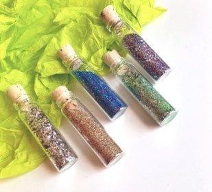 Bioglitz purpurina amigável ao meio ambiente e oceano