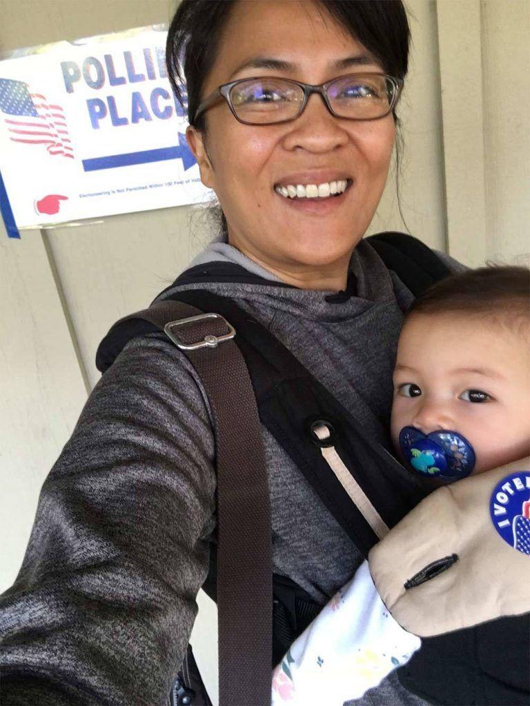 Selfies de voto são uma coisa