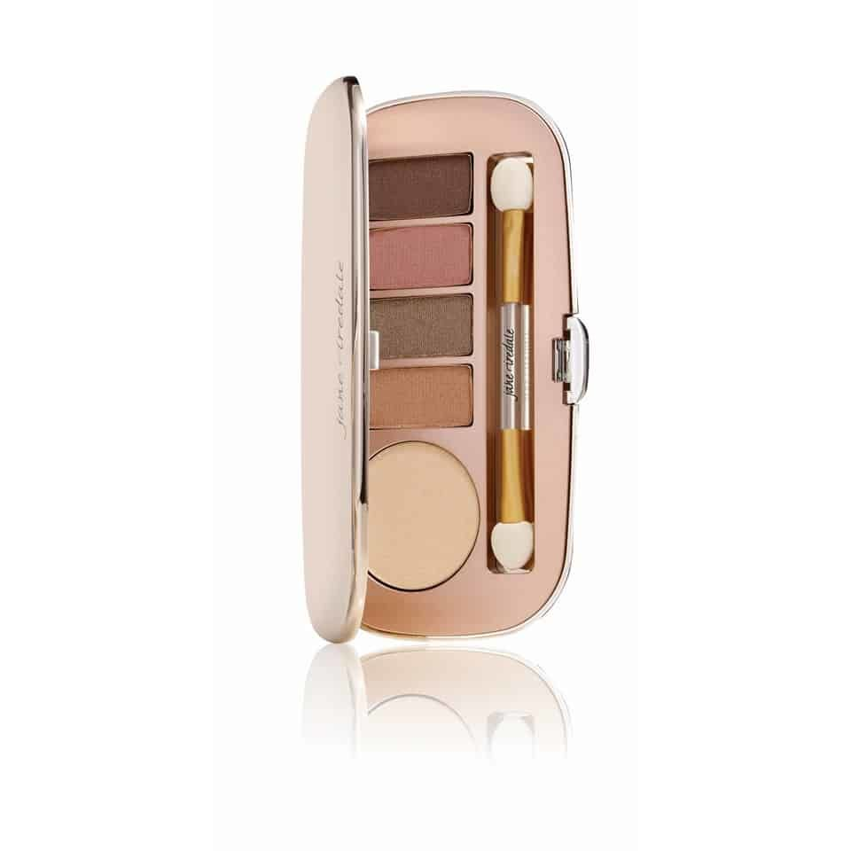 Naturalmente Glam Eye Shadow Kit, sombra de olho cintilante
