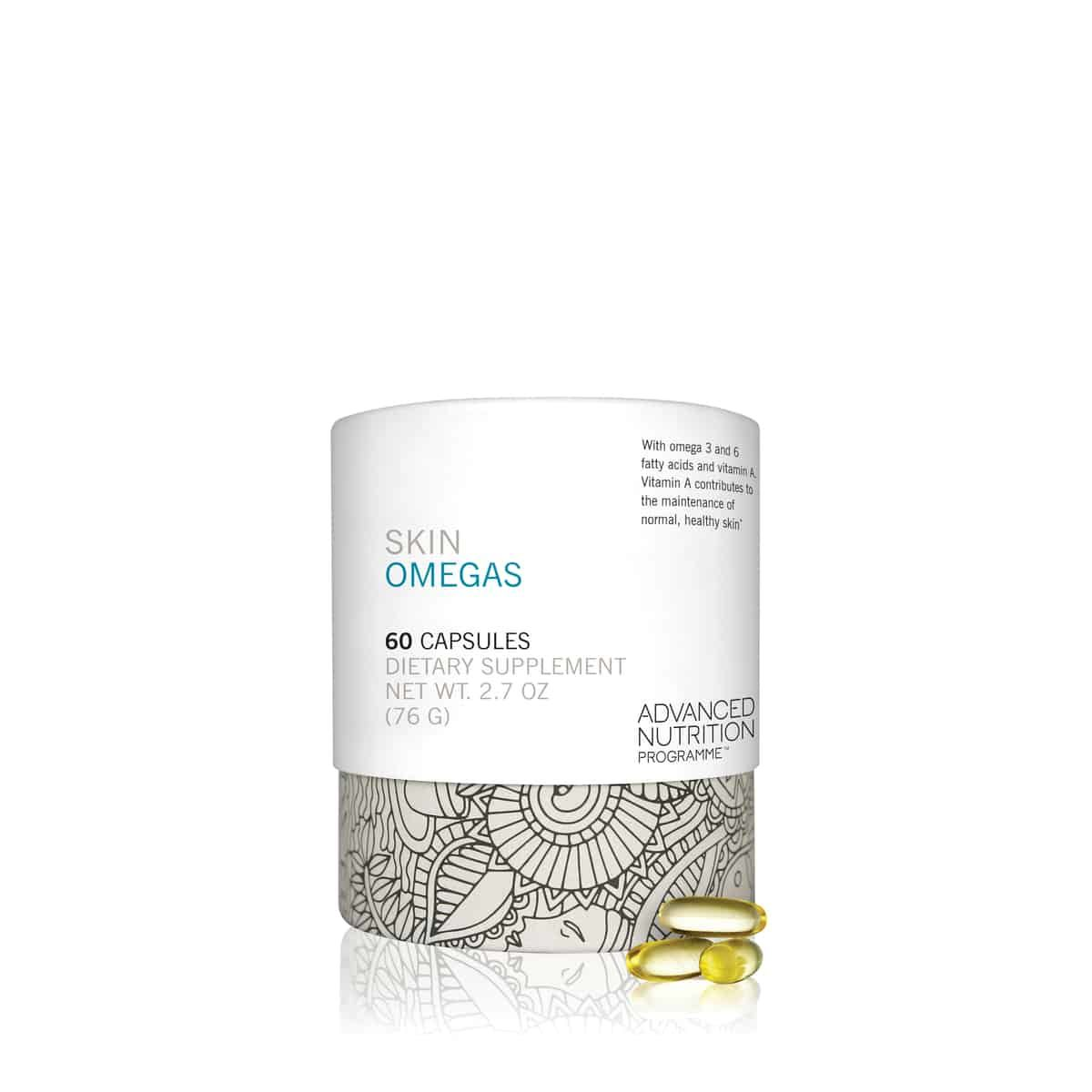 suplementos de pele ômegas skincare