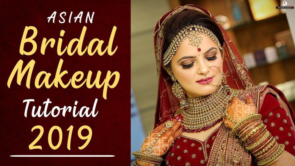 2019 Asian Bridal Makeup Tutorial