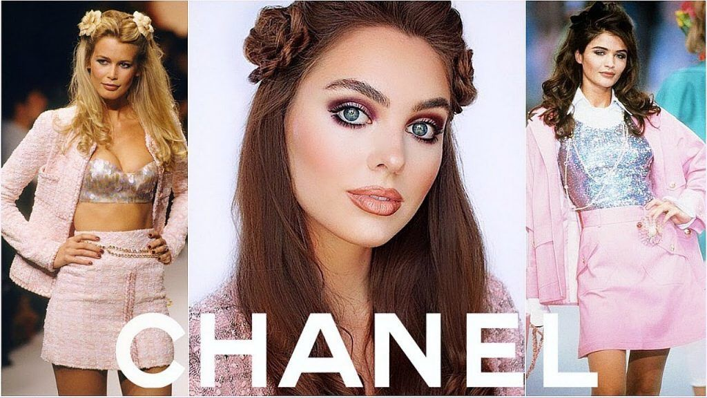90's CHANEL Runway Tutorial