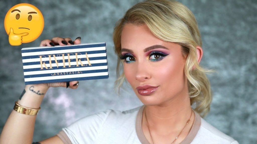 ANASTASIA BEVERLY HILLS RIVIERA PALETTE REVIEW + TUTORIAL