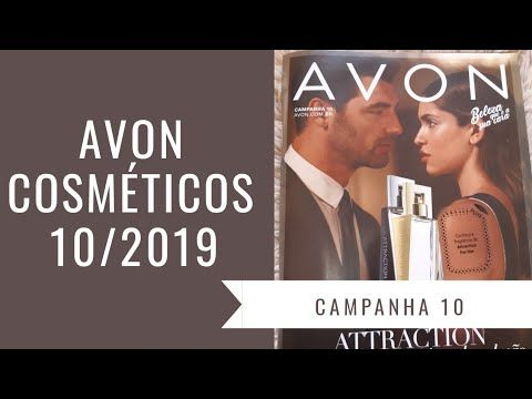 AVON COSMÉTICOS CAMPANHA 10/2019