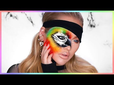 BIRD BOX INSPIRED MAKEUP TUTORIAL!