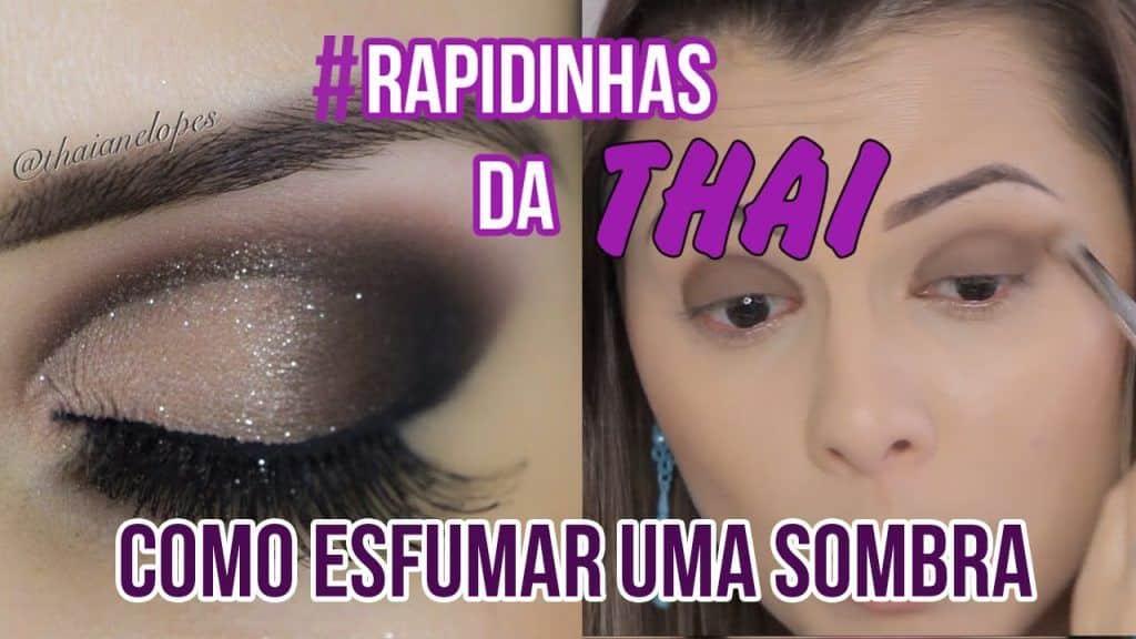 Dica para Iniciante - Aprendendo a Esfumar #RapidinhasdaThai
