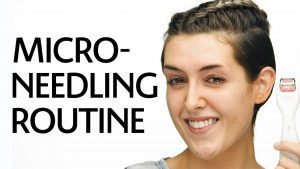 Get Unready With Me: Microneedling Routine