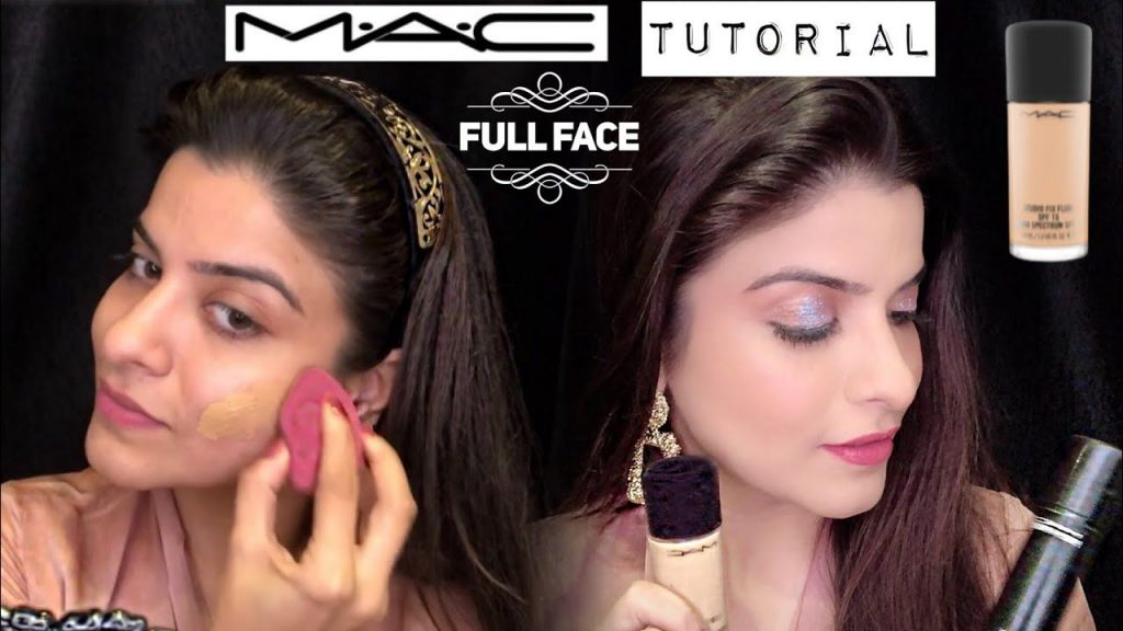 ( HINDI ) FULL FACE MAC MAKEUP TUTORIAL