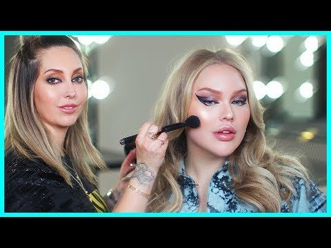 LADY GAGA'S MAKEUP ARTIST DOES MY MAKEUP!