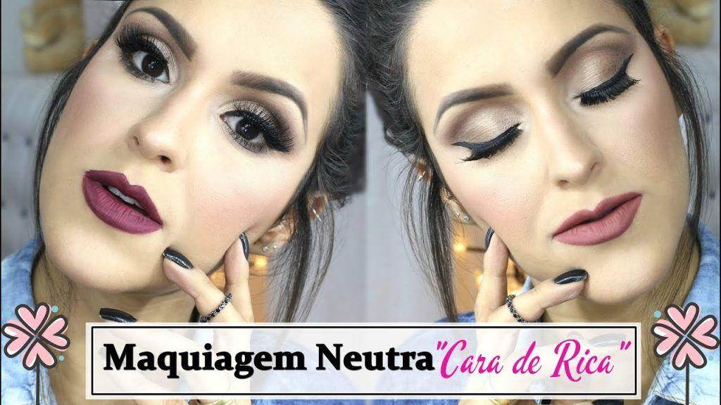 """Maquiagem Neutra """"Cara de Rica"""" 2 - #VEDA12"""