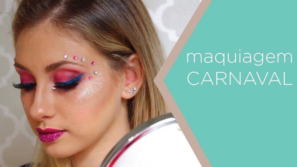 Maquiagem pra folia: passo a passo com Bellinha Oliver