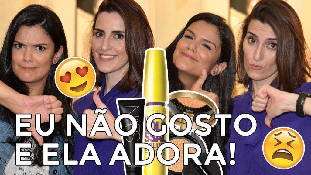 Maquiagem que eu não gosto e ela adora! (com Cinthia Ferreira)