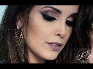 Maquiando e explicando passo a passo completo por Juliana Balduino