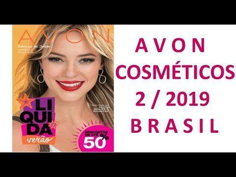 REVISTA AVON COSMÉTICOS CAMPANHA    2 / 2019 BRASIL