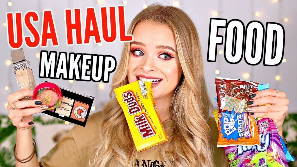 USA HAUL!! - MAKEUP, CLOTHING + SO MUCH FOOD..