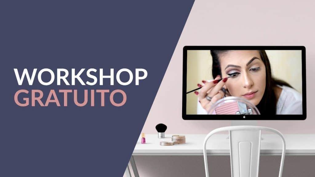Workshop Gratuito Maquiagem Passo a Passo