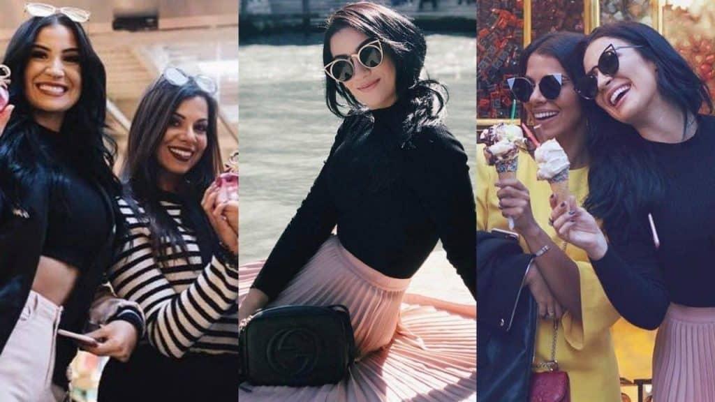 BIA VIAJA PARA ITÁLIA COM EVELYN REGLY | Snapchat Bianca Andrade