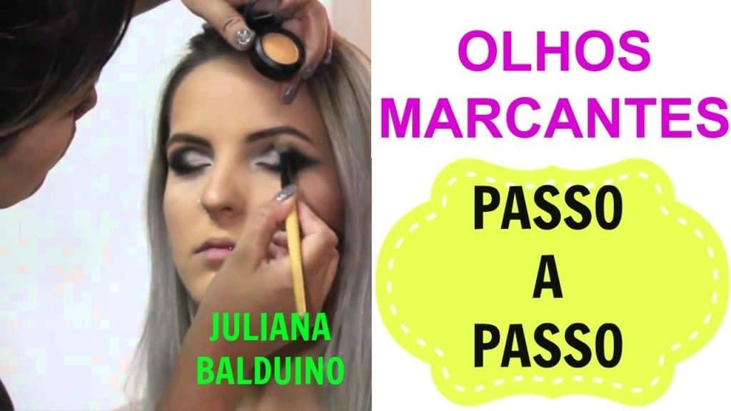 MAQUIAGEM PASSO A PASSO (  PARA OS OLHOS) por Juliana Balduino