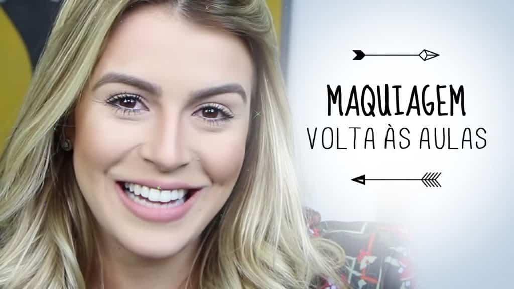 Maquiagem volta às aulas por Mariana Saad