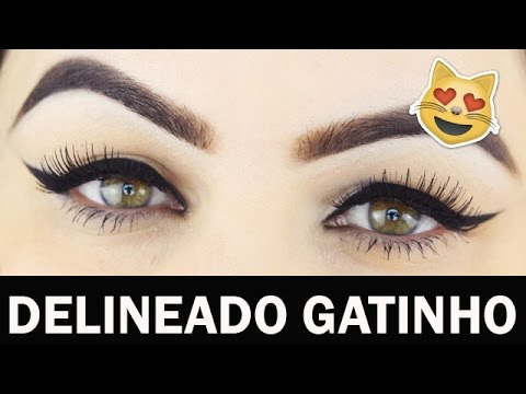 DELINEADO EM 3 MINUTOS - Truques que funcionam em todos os formatos de olhos - Makeup Tutorial
