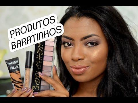 MAQUIAGEM COMPLETA COM PRODUTOS BARATOS #1 RUBY ROSE por Camila Nunes