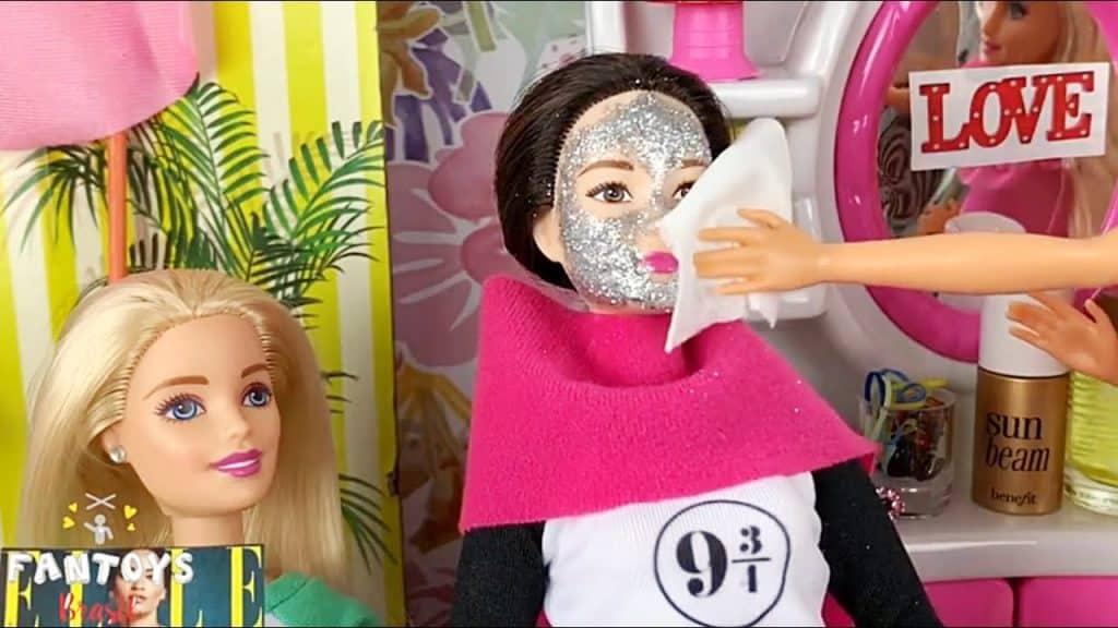 Salão de Beleza da Barbie, MAQUIAGEM DE VERDADE, SKIN and MAKE UP STYLE SALON, FanToys Brasil