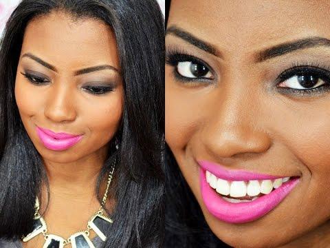 Maquiagem: Esfumado fácil | Preparação pele negra - Por Camila Nunes