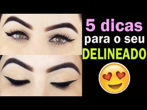 5 DICAS PRO DELINEADO GATINHO - Eyeliner Makeup Tutorial