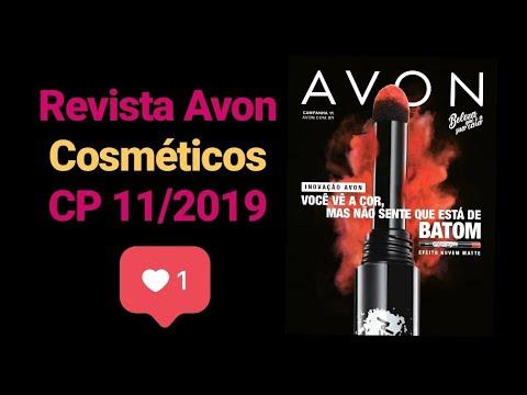 Revista Cosméticos CP 11/2019 - Revista Avon Clientes - Brasil
