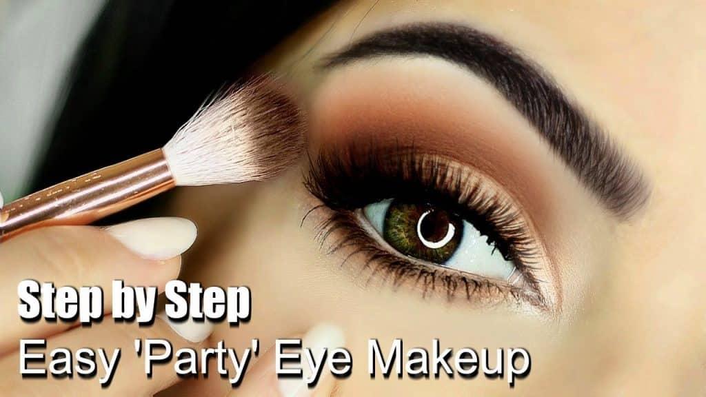 Tutorial de maquiagem de olhos para iniciantes | Partes do olho | Como aplicar sombra