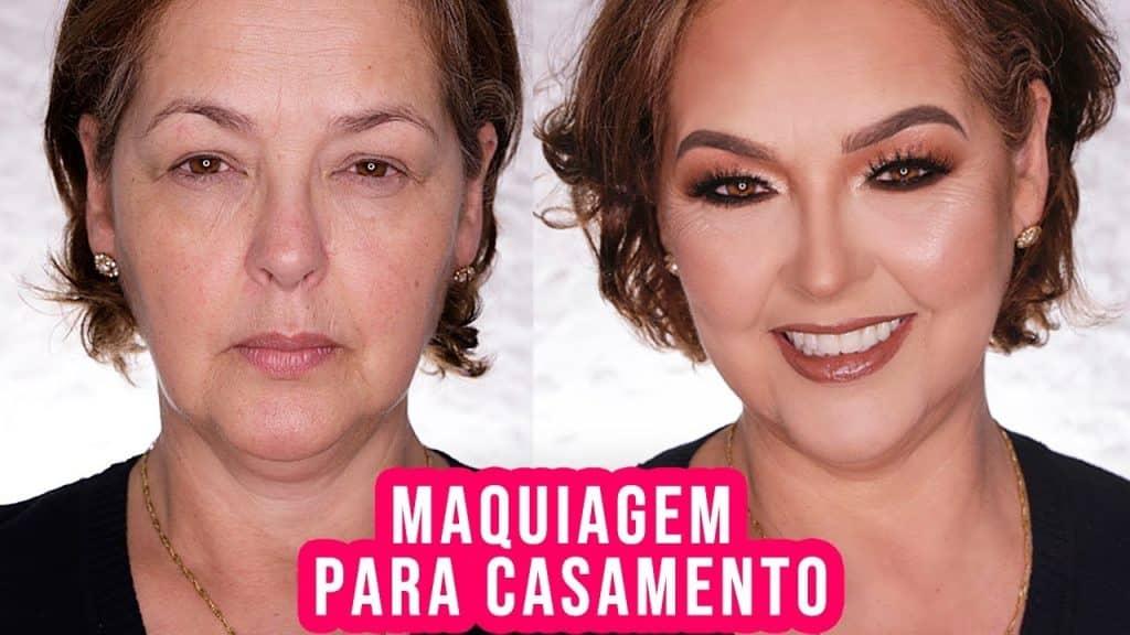 MAQUIAGEM PELE MADURA PARA CASAMENTO - NOIVA, MADRINHA, MÃE DA NOIVA...