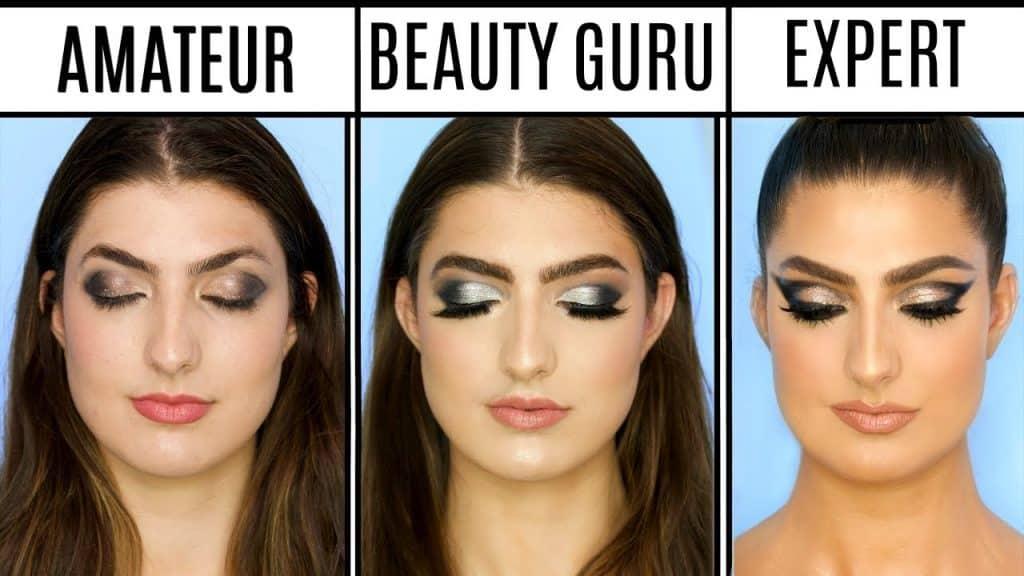 4 níveis de maquiagem: amador para maquiador profissional