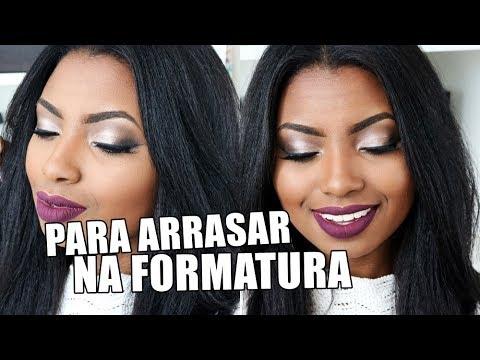 MAQUIAGEM PARA FORMATURA | PELE NEGRA Camila Nunes