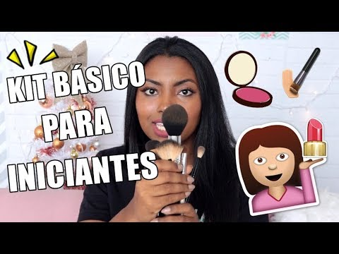 KIT DE MAQUIAGEM PARA INICIANTES Camila Nunes