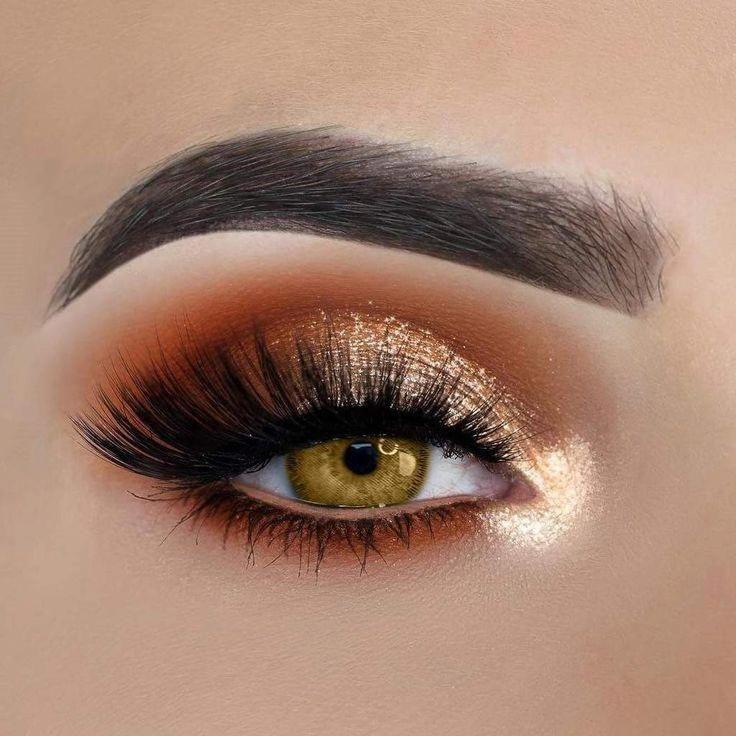 Formas bonitas e criativas de fazer maquiagem nos olhos #eyemakeup
