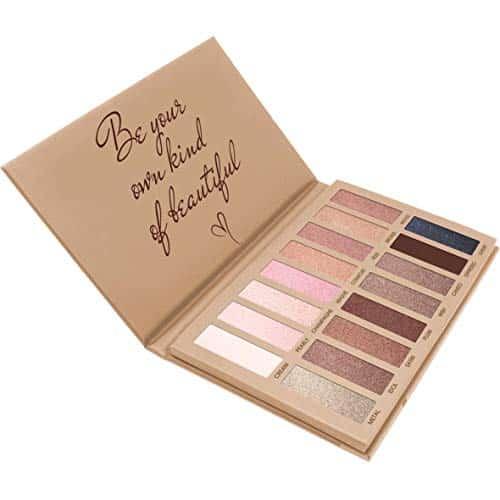 Melhor Pro Paleta Da Sombra Maquiagem - Matte Shimmer 16 Cores - Altamente Pigmentado - Nus Profissionais Quente Natural Bronze Neutro Smoky Cosméticos Sombras Para Os Olhos