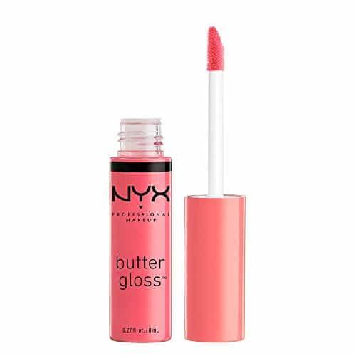 NYX Maquiagem profissional Gloss de manteiga, pêssegos e creme, 0,27 onças fluidas