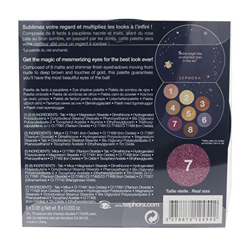 SEPHORA COLLECTION Paleta Encantada da Sombra para o Céu 8 Sombras Mate e Shimmer