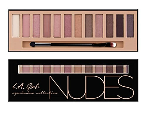 L.A. Girl Beauty Brick Eyeshadow, Nudes, 0,42 Onças