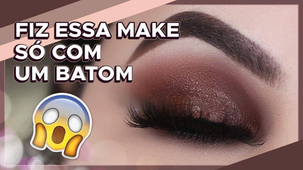 DESAFIO 1 MAKE 1 BATOM - A Maquiagem MAIS RÁPIDA e PODEROSA QUE EXISTE!