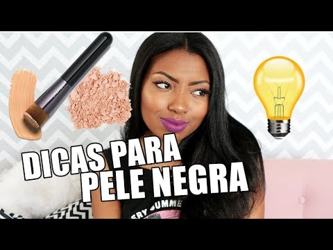 DICAS E TRUQUES DE MAKE PARA PELE NEGRA Camila Nunes