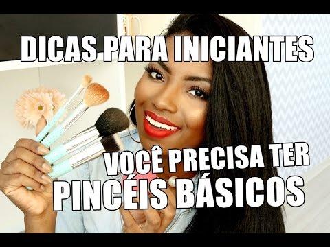 PINCEIS BÁSICOS PARA FAZER MAQUIAGEM | VEDA #3 Camila Nunes