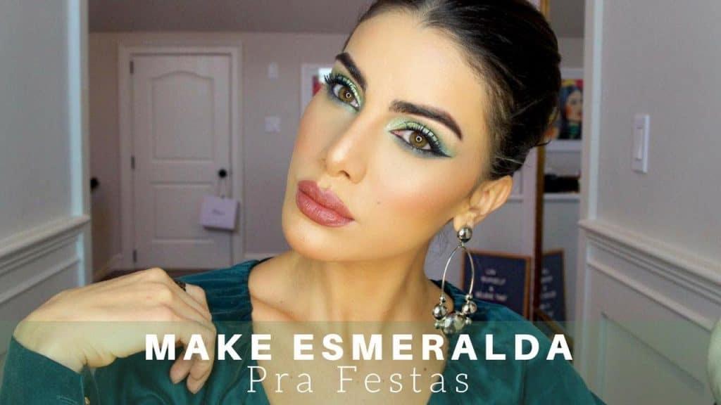 MAKE ESMERALDA PARA FESTAS!