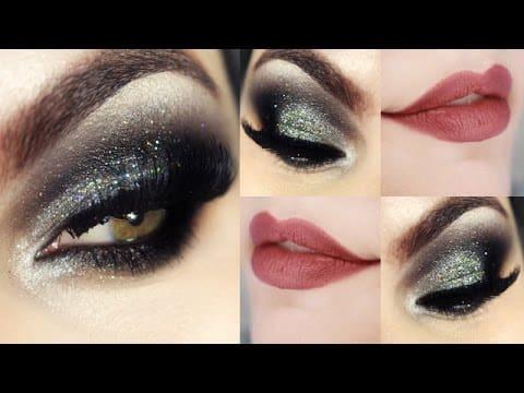 Makeup para olhos pequenos com pálpebra caída e gordinha! Maquiagem que aumenta o olho =)