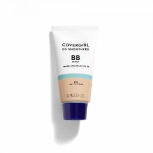 COVERGIRL Smoothers Lightweight BB Cream, 1 Tube (1.35 oz), Light a Medium 810 Skin Tones, Hidratante BB Cream com SPF 21 Sun Protection (a embalagem pode variar)