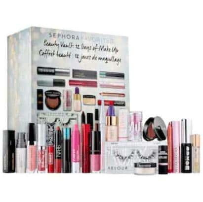 Sephora Favorites Beauty Vault: 12 dias de maquiagem - conjunto de 22 peças