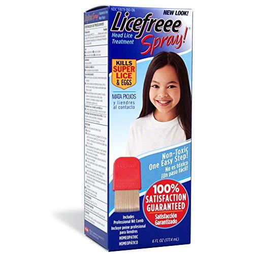Tec Labs Licefreee Spray Spray para piolhos - Nova versão - Tratamento para piolhos super para crianças e adultos